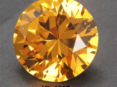 金黄色水晶钻石30MM,镀铝银底