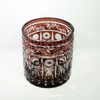 玻璃笔筒雕花TZ-009