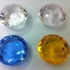 双平钻石,平底水晶钻石,玻璃钻石