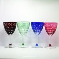 玻璃高脚杯刻花TG-092