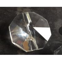 28MM横孔八角水晶纽扣