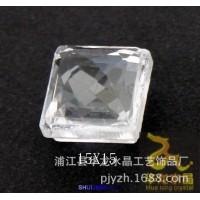 特价15MM正方中空移门透明钻玻璃水晶配件门花钻七彩异形门窗配件