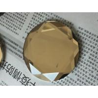 76MM水晶玻璃圆片,贴片,化妆盒钻,装饰钻