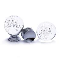 气泡水晶球拉手